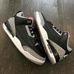 Jordan Shoes - Air Jordan 3 Retro Cement 2018 Nike W/Receipt Auth